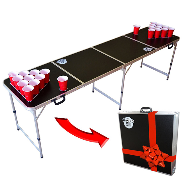 Beer Pong Table in a Briefcase