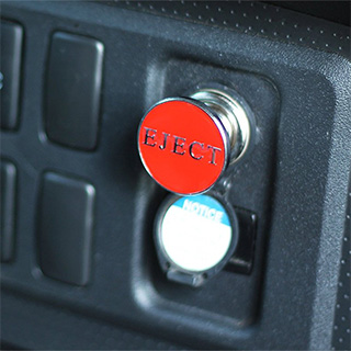 Eject Button Car Lighter