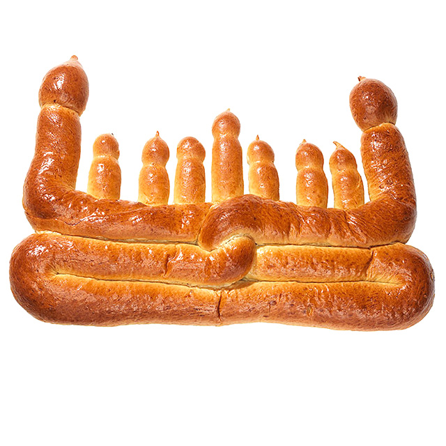 Menorah Bread
