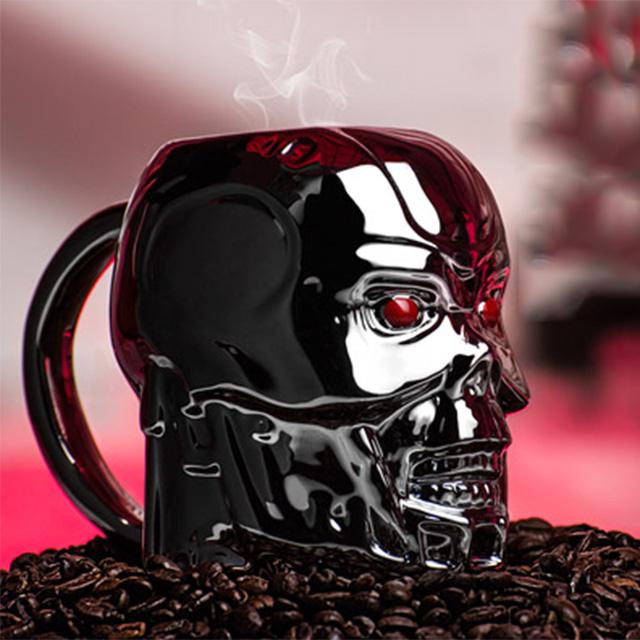 Metallic Terminator Mug