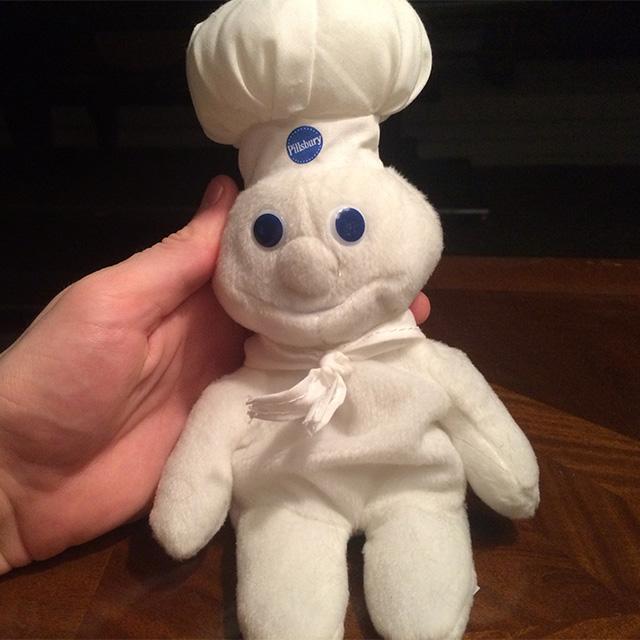 Pillsbury Doughboy Plush Doll