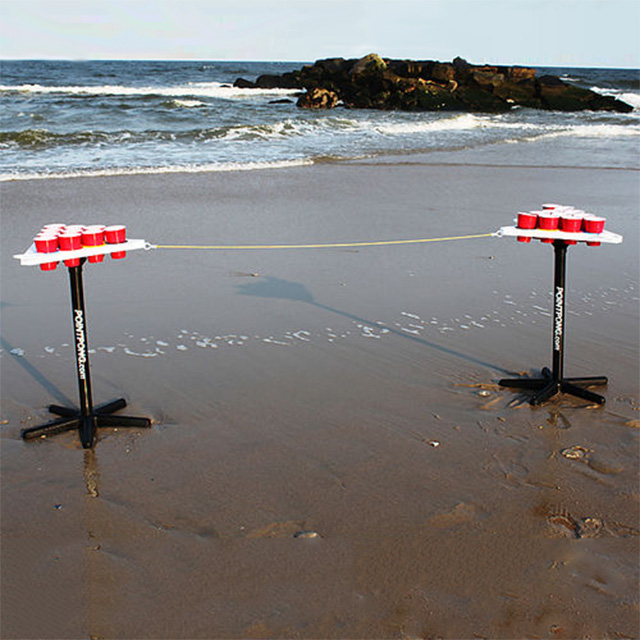 Play Anywhere Beer Pong Tables