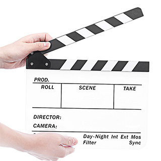 Whiteboard Movie Slate