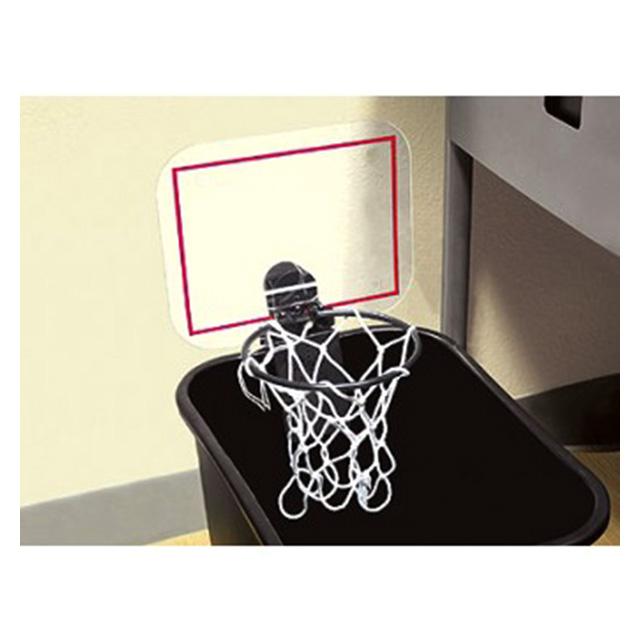 Cheering Trash Can Basketball Hoop