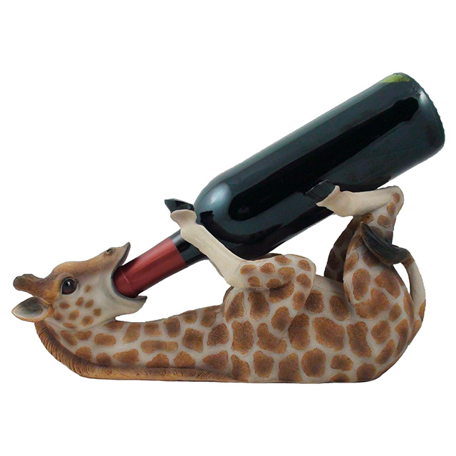 Drunk Giraffe Wine Holder