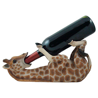 Drunk Giraffe Wine Holder