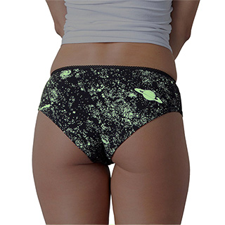 Glow in the Dark Space Panties