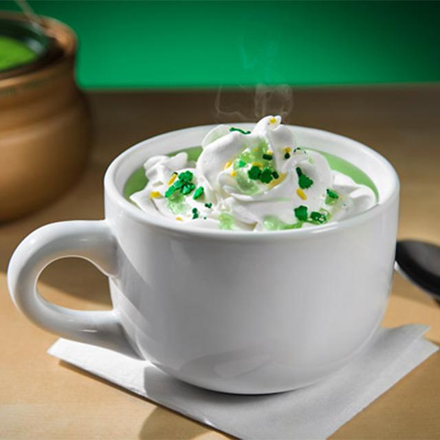 Green Hot Chocolate