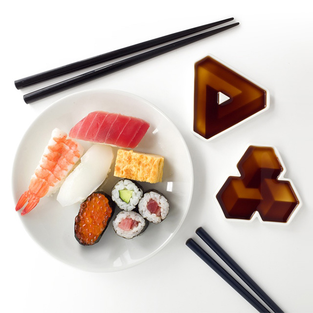 Impossible Shapes Soy Sauce Dishes