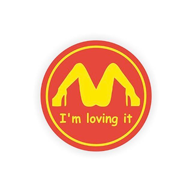 Loving It Sticker