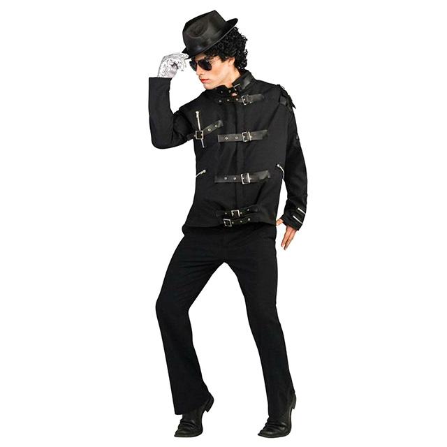 Michael Jackson-Style Strap Jacket