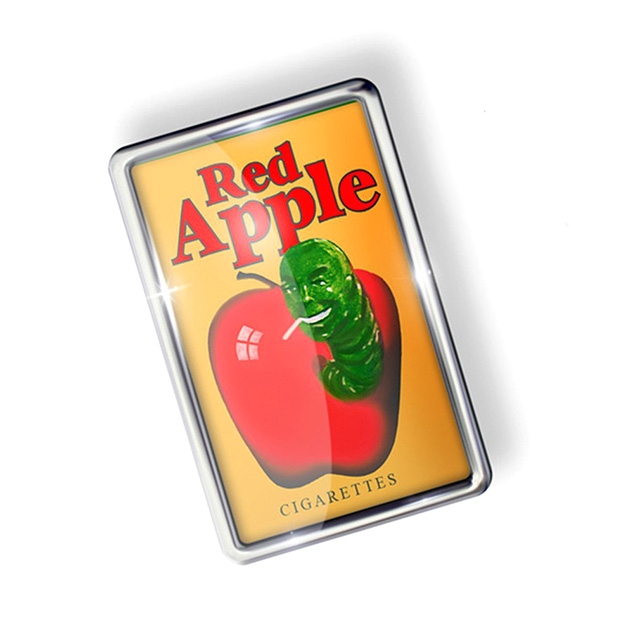 Red Apple Cigarettes Pin