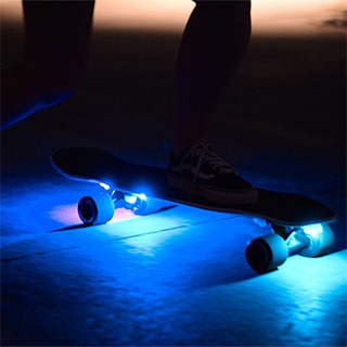 Skateboard Lights