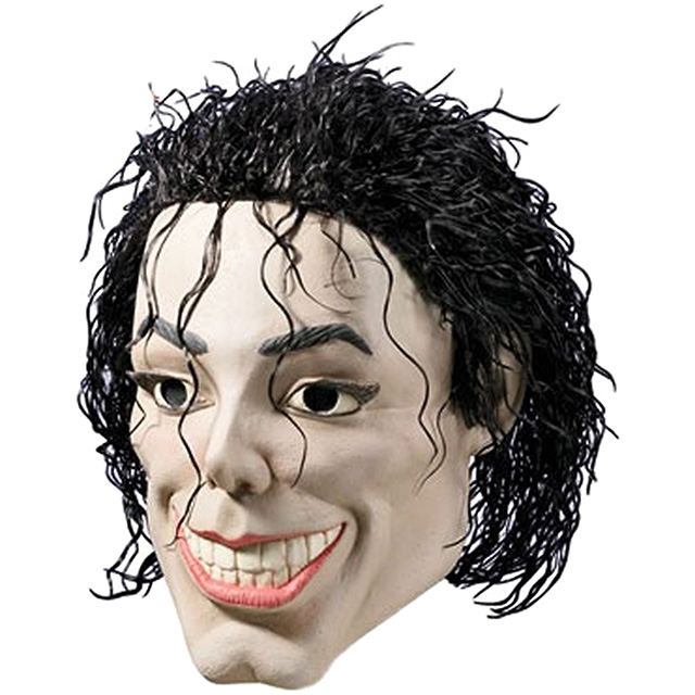 Terrifying Michael Jackson Mask