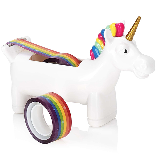 Unicorn Rainbow Tape Dispenser