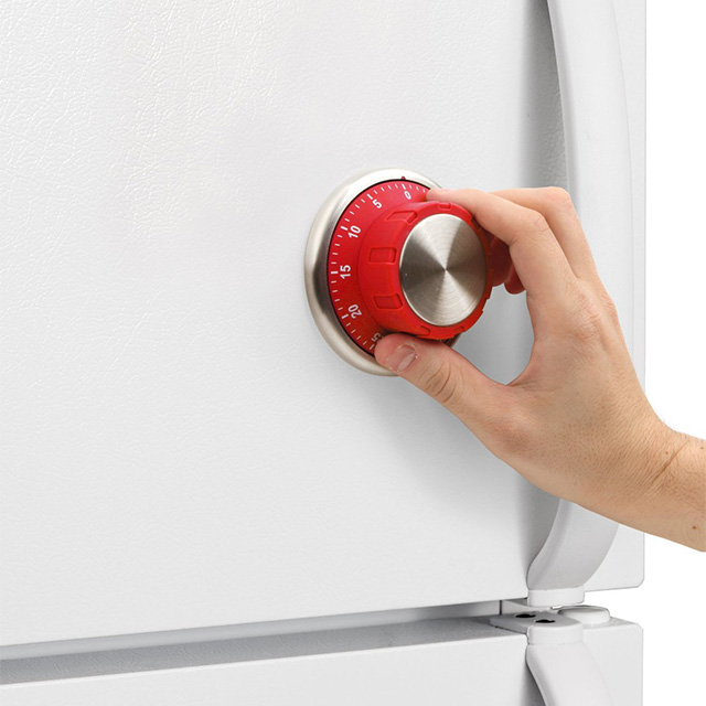 Wall Safe Dial Kitchen Timer