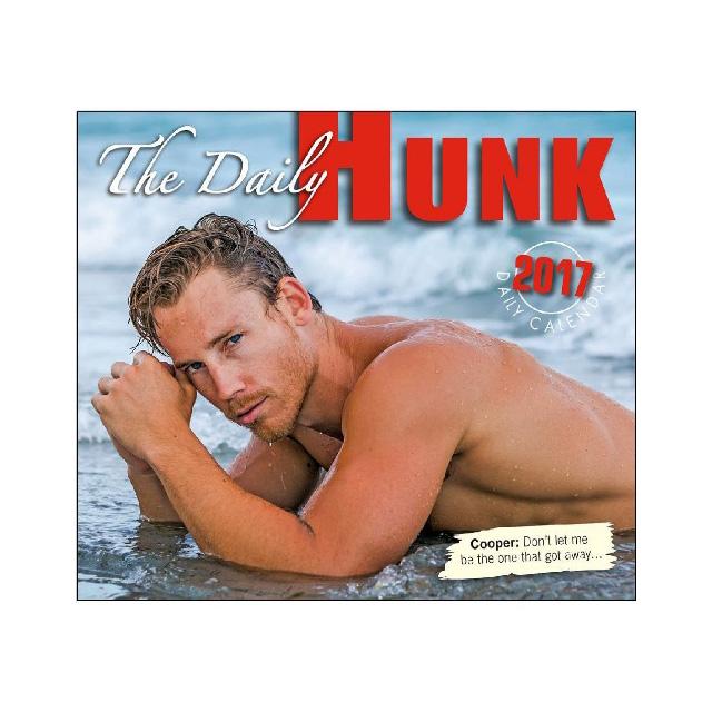 2017 Daily Hunk Calendar