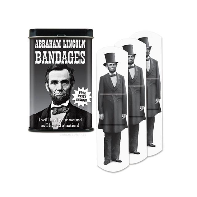 Abe Lincoln Bandages