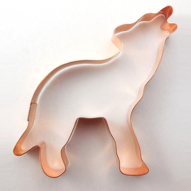 Howling Wolf Cookie Cutter