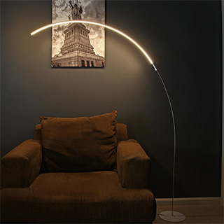 Minimalist Arc Lamp