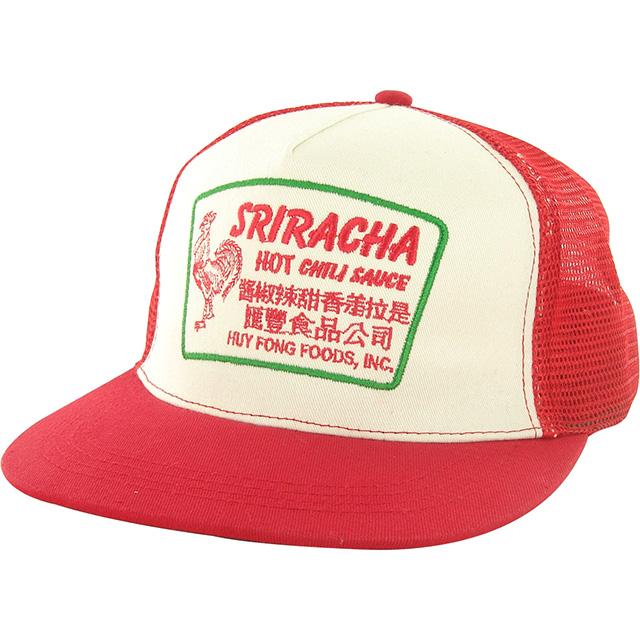 Retro Sriracha Trucker Hat