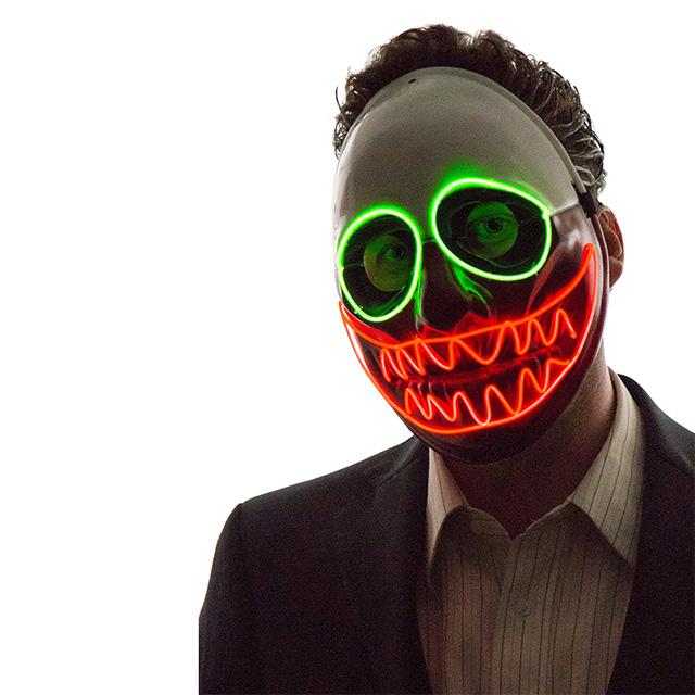Scary Clown Light Mask