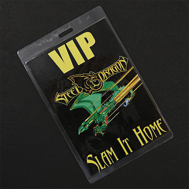 Steel Dragon Backstage Pass