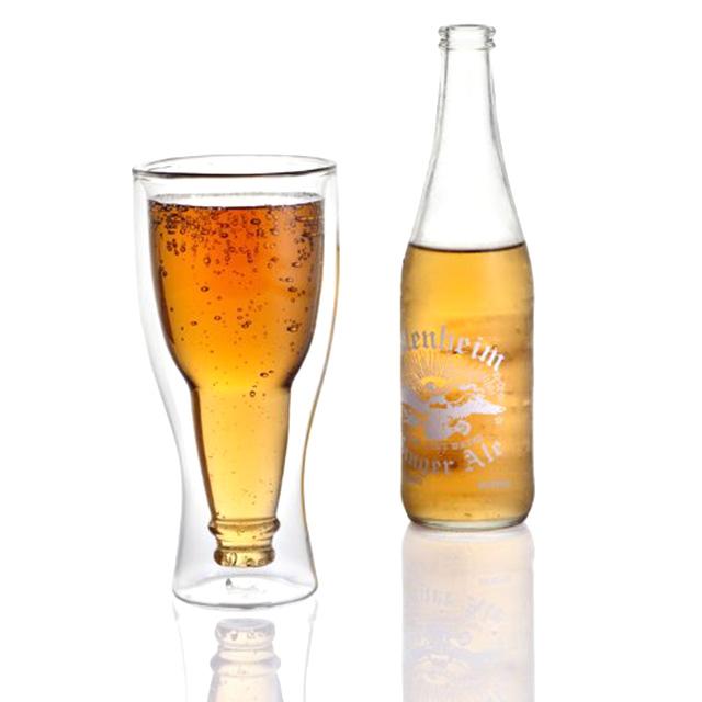 Upside Down Beer Glass