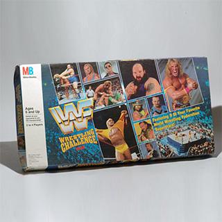 WWF Wrestling Board Game