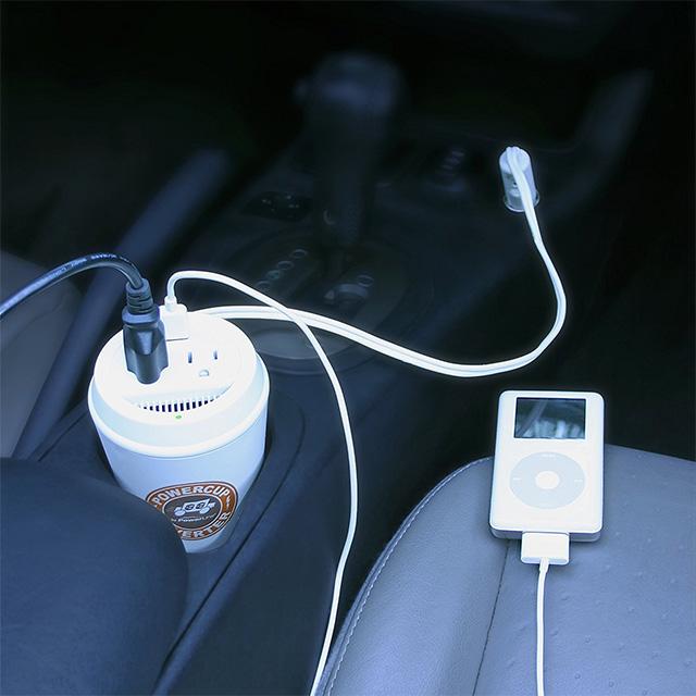 Cupholder Fit Power Inverter