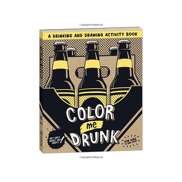 Drinking and Drawing Activity Book