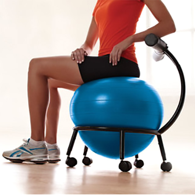 Exercise Ball and Chair