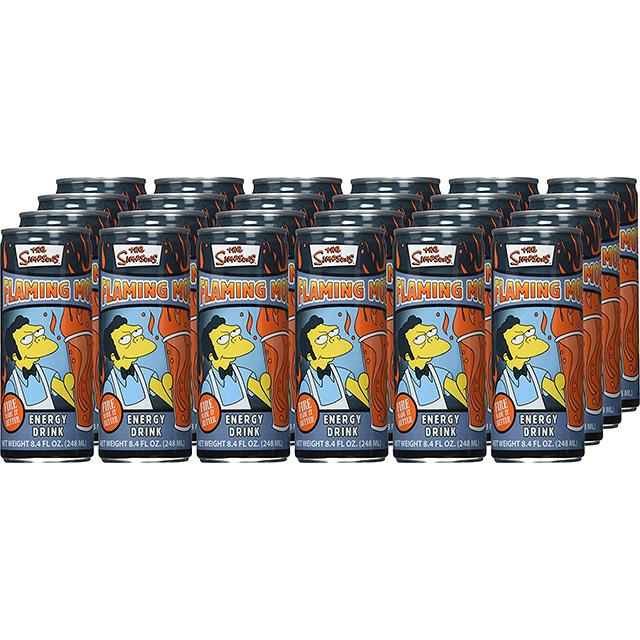 Flaming Moe Energy Drink