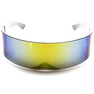 Futuristic Wraparound Sunglasses