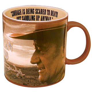 Inspirational John Wayne Coffee Cup