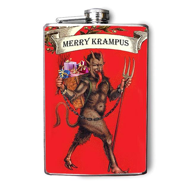 Krampus Flask
