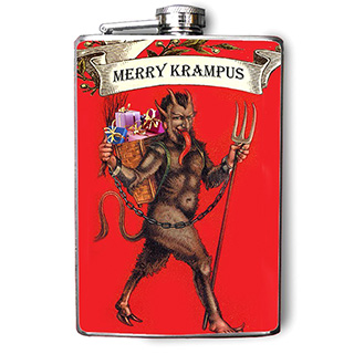 Krampus Flask