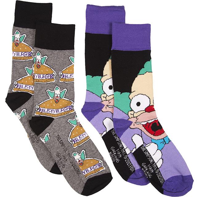 Krusty the Clown Socks