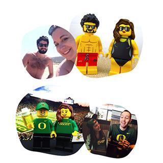 LEGO Caricatures