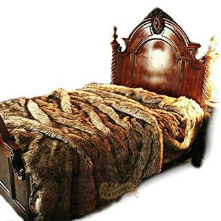 Massive Faux Fur Comforter