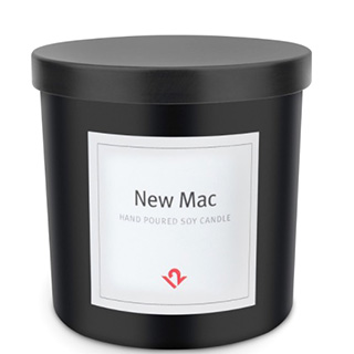 New Mac-Scented Candle