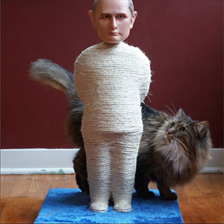 Politician Cat Scratching Posts