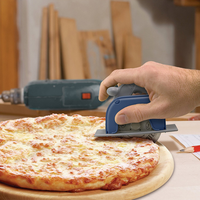 Power Saw Pizza Cutter