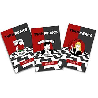 Twin Peaks Pins