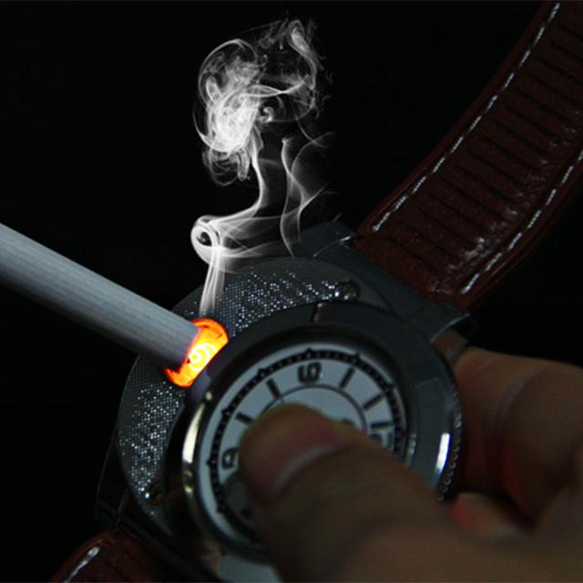 Windproof Lighter Watch