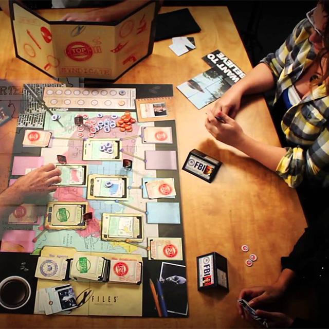 X-Files Board Game