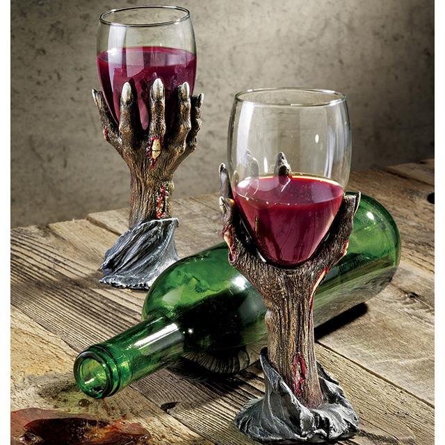 Zombie Hand Wine Goblets