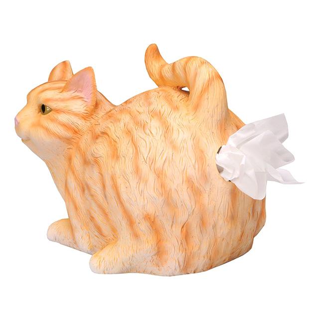 Cat Butthole Tissue Holder