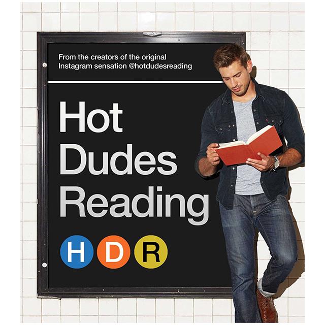 Hot Dudes Reading Photo Book