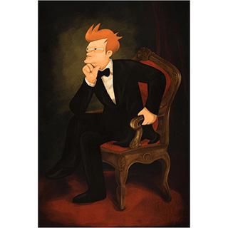 Presidential Philip J. Fry Poster